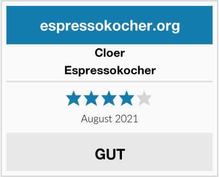 Cloer Espressokocher Test