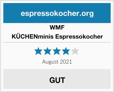 WMF KÜCHENminis Espressokocher Test