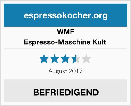 WMF Espresso-Maschine Kult  Test