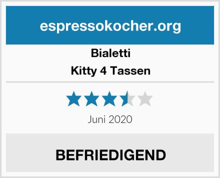 Bialetti Kitty 4 Tassen Test