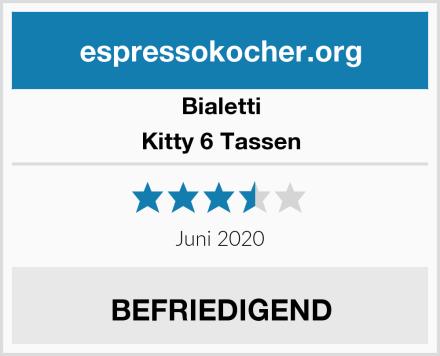 Bialetti Kitty 6 Tassen Test