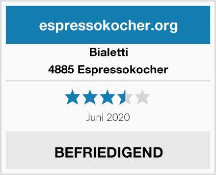 Bialetti 4885 Espressokocher Test