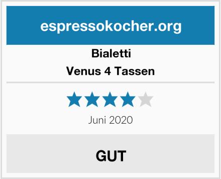 Bialetti Venus 4 Tassen Test