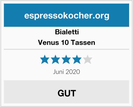 Bialetti Venus 10 Tassen Test
