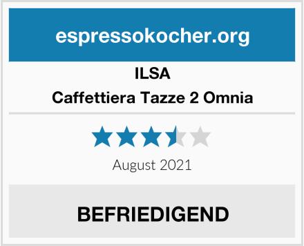 ILSA Caffettiera Tazze 2 Omnia Test
