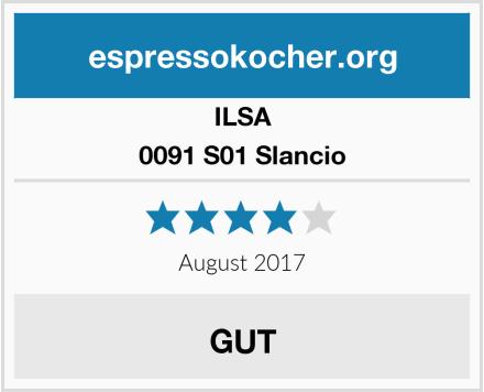 ILSA 0091 S01 Slancio Test