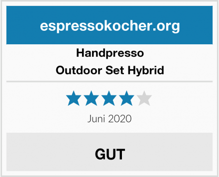 Handpresso Outdoor Set Hybrid Test