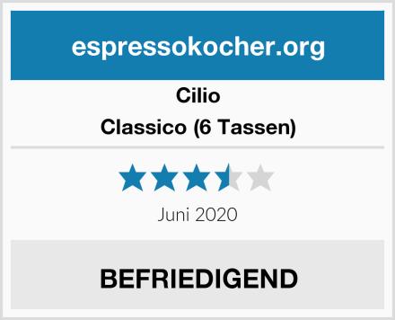 Cilio Classico (6 Tassen) Test