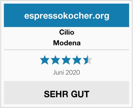 Cilio Modena Test