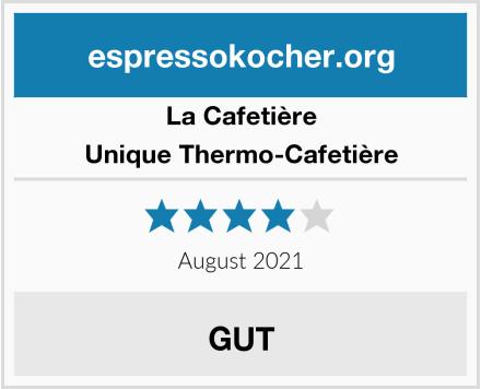 La Cafetière Unique Thermo-Cafetière Test