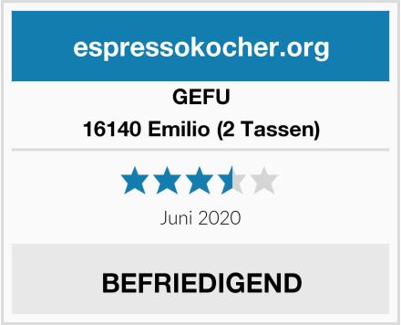 GEFU 16140 Emilio (2 Tassen) Test