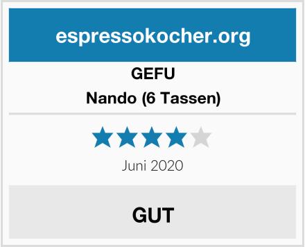 GEFU Nando (6 Tassen) Test