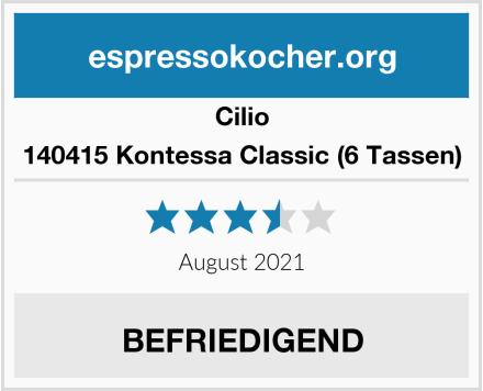 Cilio 140415 Kontessa Classic (6 Tassen) Test