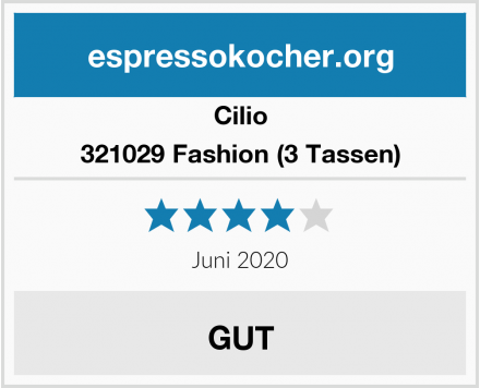 Cilio 321029 Fashion (3 Tassen) Test