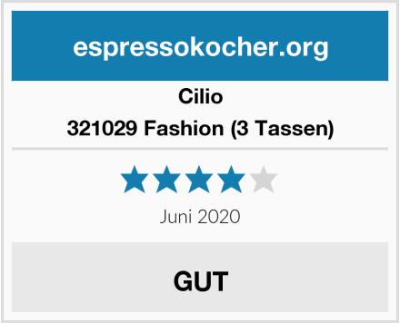 Cilio 321029 Fashion (3 Tassen) Test