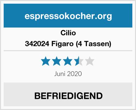 Cilio 342024 Figaro (4 Tassen) Test