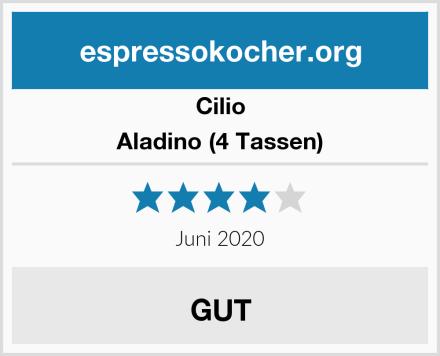 Cilio Aladino (4 Tassen) Test