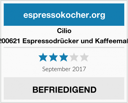 Cilio 200621 Espressodrücker und Kaffeemaß Test