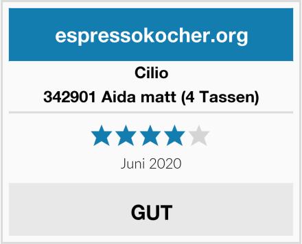 Cilio 342901 Aida matt (4 Tassen) Test