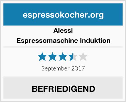Alessi Espressomaschine Induktion Test