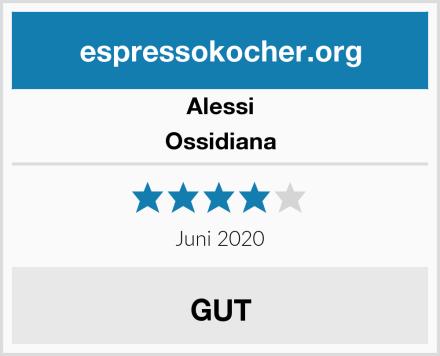 Alessi Ossidiana Test