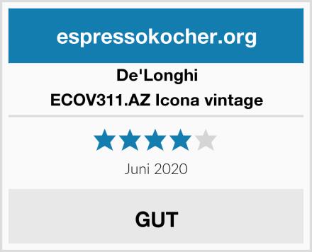De'Longhi ECOV311.AZ Icona vintage Test