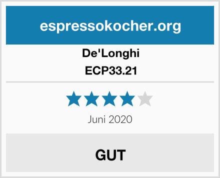 De'Longhi ECP33.21 Test