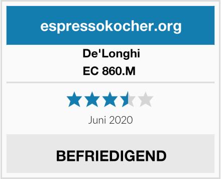 De'Longhi EC 860.M  Test