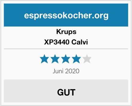 Krups XP3440 Calvi Test