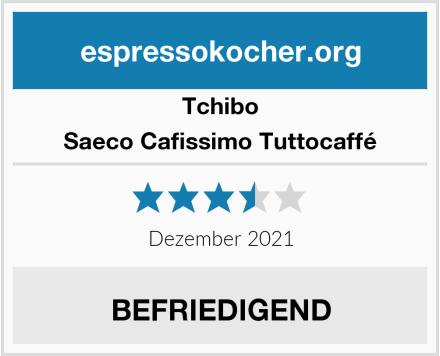 Tchibo Saeco Cafissimo Tuttocaffé Test