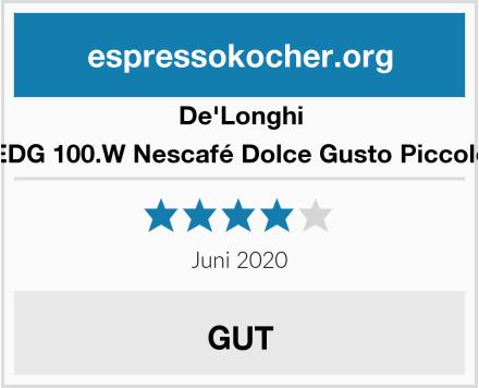 De'Longhi EDG 100.W Nescafé Dolce Gusto Piccolo Test