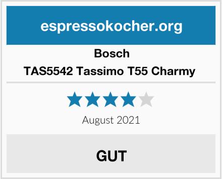 Bosch TAS5542 Tassimo T55 Charmy  Test
