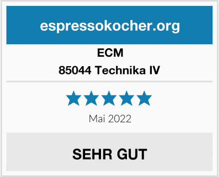 ECM 85044 Technika IV Test