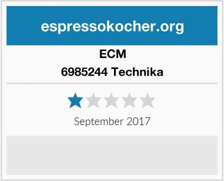 ECM 6985244 Technika Test