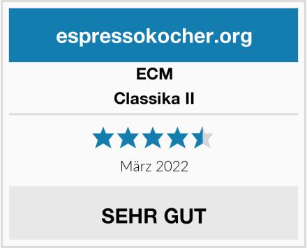 ECM Classika II Test