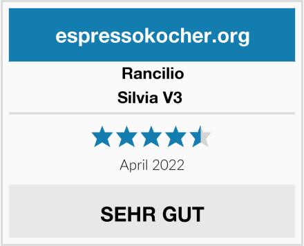 Rancilio Silvia V3  Test