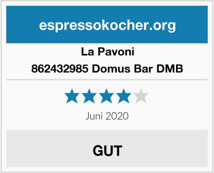 La Pavoni 862432985 Domus Bar DMB Test