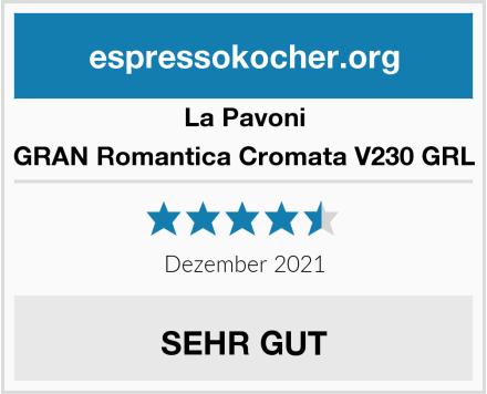 La Pavoni GRAN Romantica Cromata V230 GRL Test