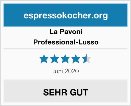 La Pavoni Professional-Lusso Test
