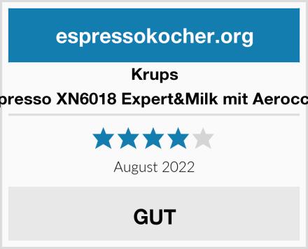 Krups Nespresso XN6018 Expert&Milk mit Aeroccino3 Test