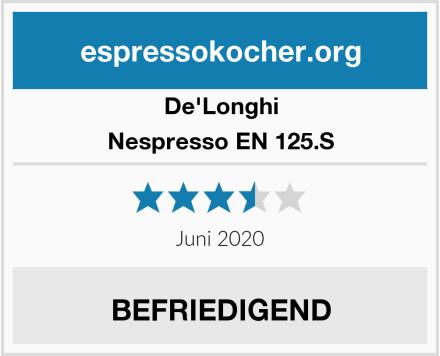 De'Longhi Nespresso EN 125.S Test