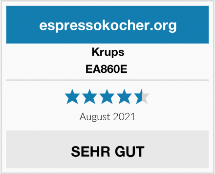 Krups EA860E  Test