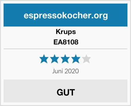 Krups EA8108 Test