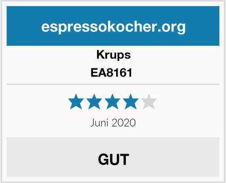 Krups EA8161  Test