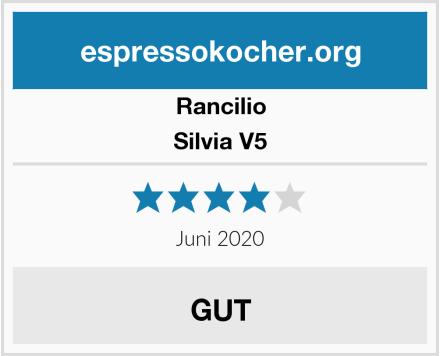 Rancilio Silvia V5 Test