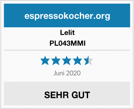 Lelit PL043MMI Test