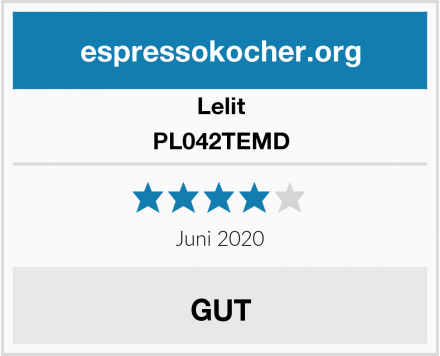 Lelit PL042TEMD Test