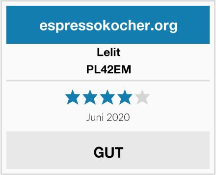 Lelit PL42EM Test