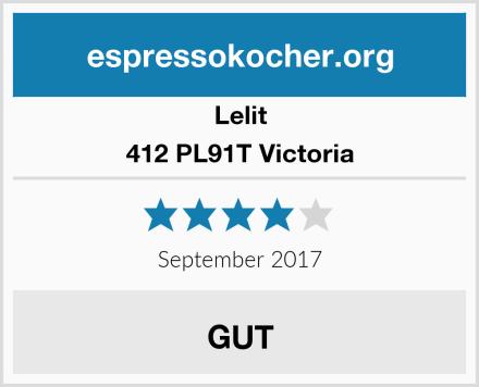 Lelit 412 PL91T Victoria Test