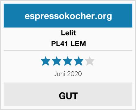 Lelit PL41 LEM Test